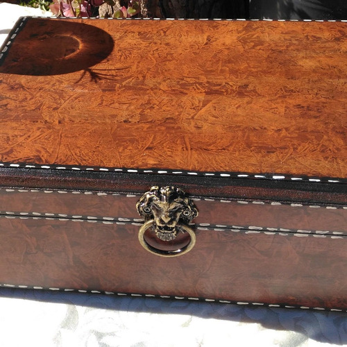 especiarias para gin tônica. caixa em madeira - artesanal