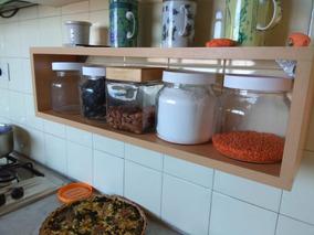 Mueble Cocina Madera Pintado - Especieros en Mercado Libre ...