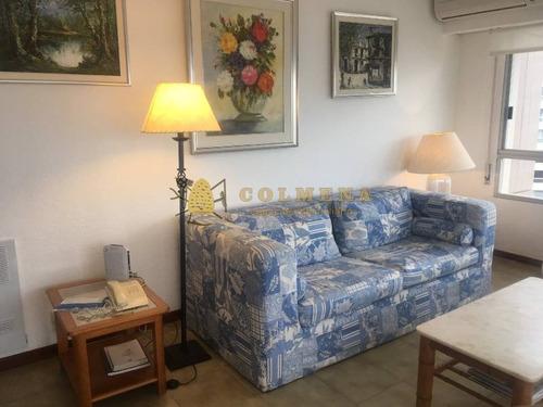 espectacular apartamento de 2 dormitorios, vista franca a la playa brava. muy cómodo y confortable. - ref: 683