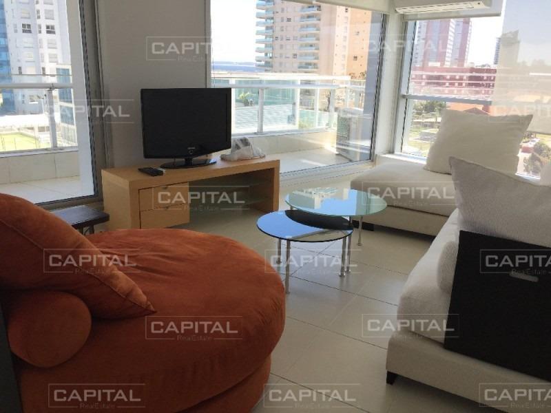 espectacular apartamento de 3 dormitorios en una de las mejores torres con servicios en punta del este.-ref:28438