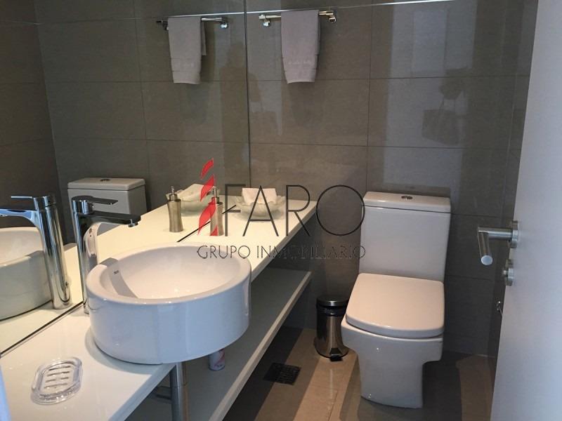 espectacular apartamento tríplex 3 suites y dependencia, piscina, parrillero y sauna propio, ascensor, alquiler anual o venta-ref:36815