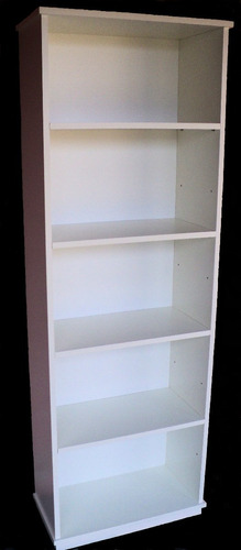 espectacular bibliotecas- estante- organizadora baja blanca
