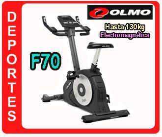 espectacular !! bici fija electromagnética f70 olmo h/130kg