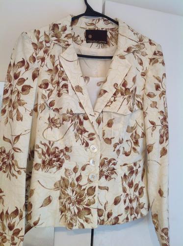 espectacular blazers lino ytop seda natural claudia larreta