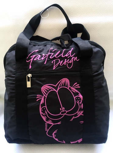 espectacular bolso garfield