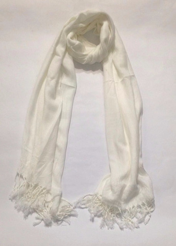 espectacular bufanda pashmina chal unicolor liso le sak