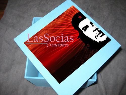 espectacular caja artesanal personalizada con tu foto