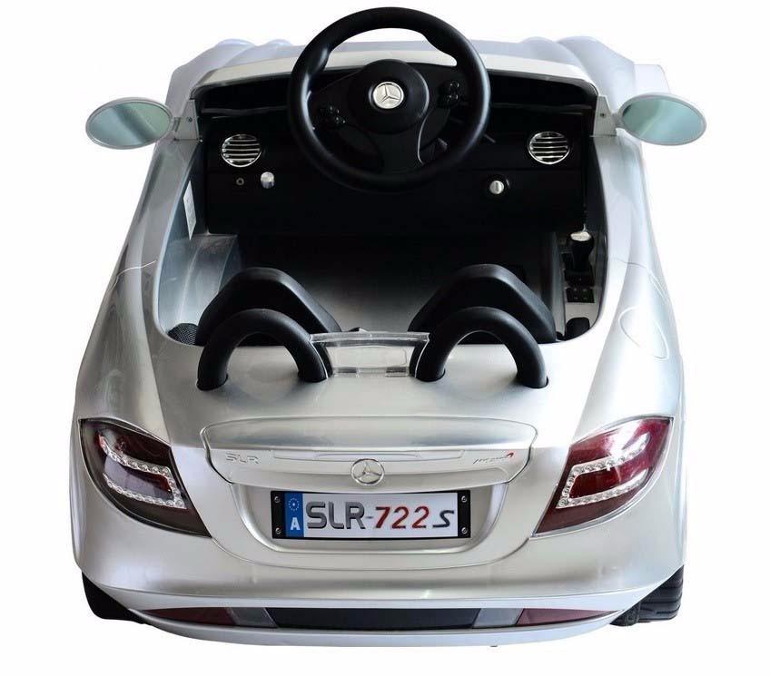 Espectacular Carrito Electrico Mercedesbenz Slr