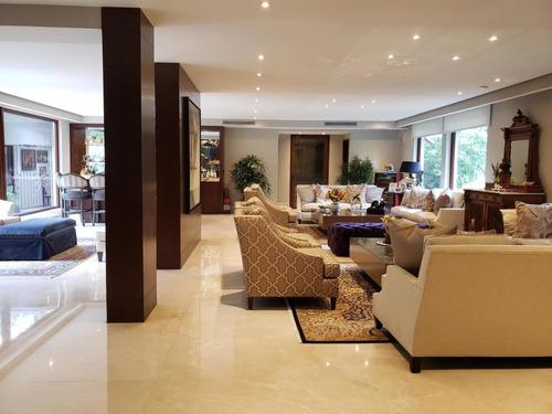 espectacular casa en alquiler en altos del golf panama cv