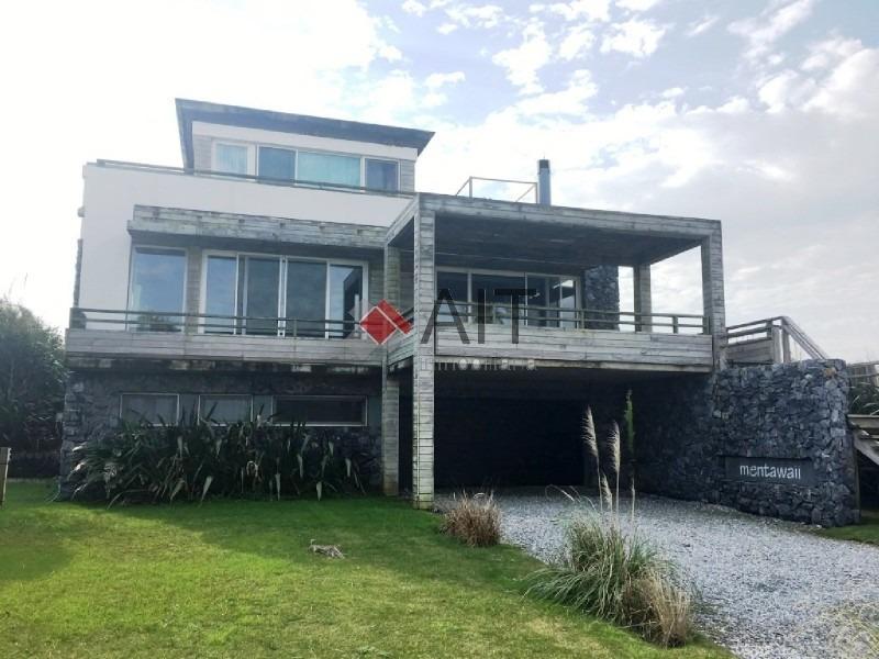 espectacular casa en  manantiales frente al mar!!, única!!-ref:6092