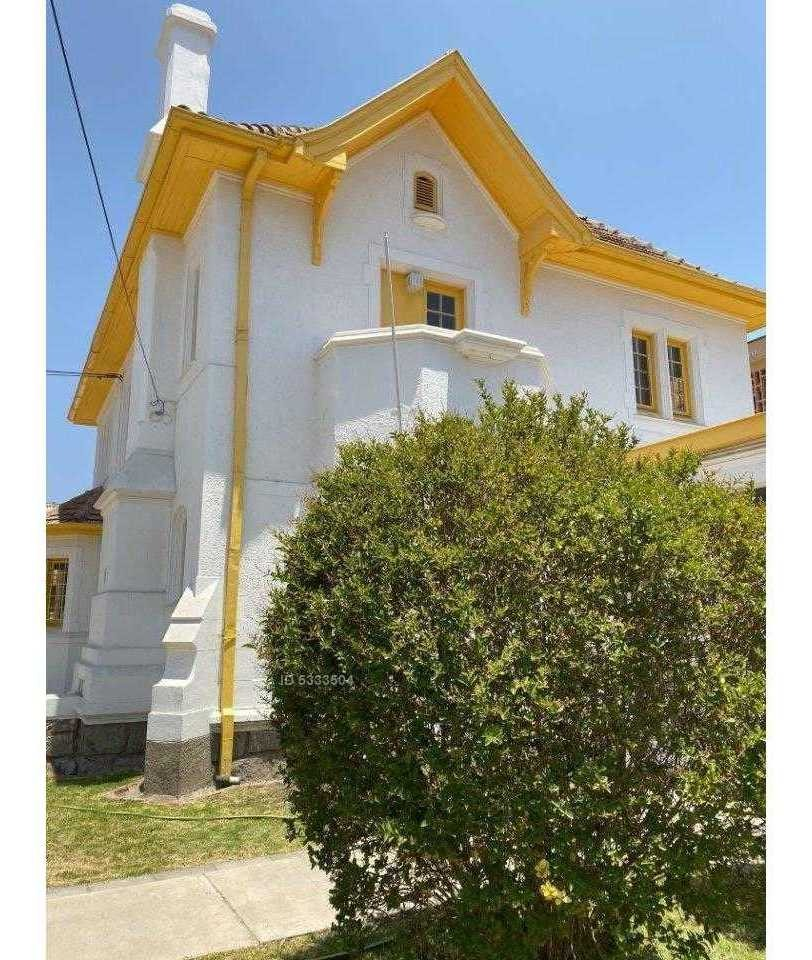 espectacular casa esquina en venta en avenida principal de quilpué