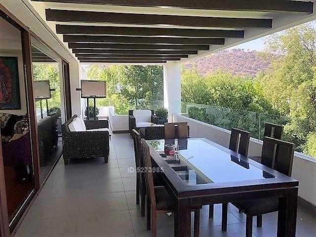espectacular casa mediterránea en condominio / no trimestral