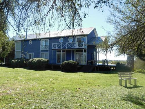 espectacular casa quinta en venta - chacras del parana - zarate