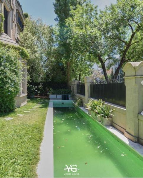 espectacular casas en belgrano reciclada 6 ambientes con parque y pileta