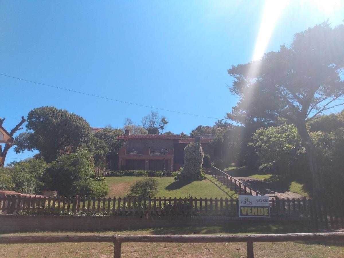 espectacular chalet villa gesell z/sur lote 600m2