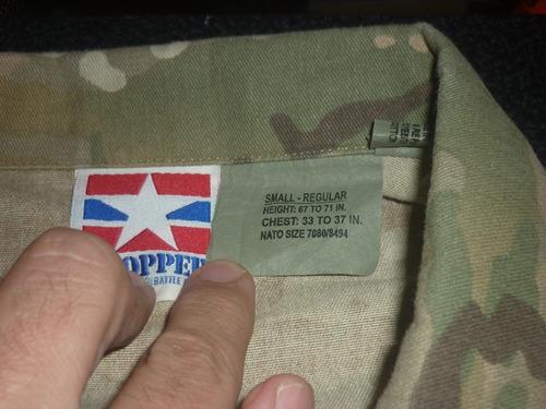 espectacular!! chaqueta orig. propper- multicam small reg