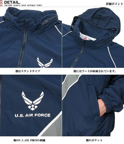 espectacular!! chaqueta orig. us air force ptu 2