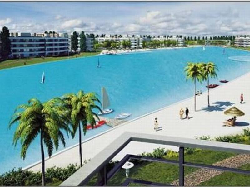 espectacular departamento 3 ambientes - mes de febrero  - lagoon pilar- mallmann propiedades