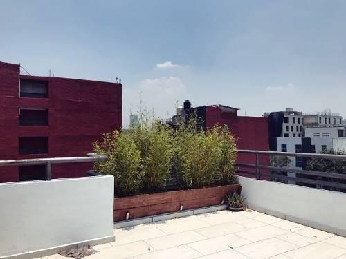 espectacular departamento con roof garden privado!