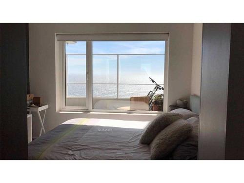 espectacular departamento con vista al mar en costa de montemar