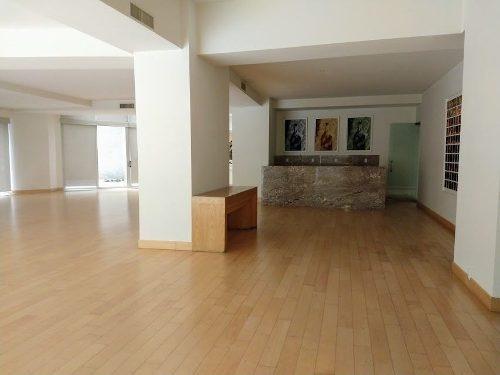 espectacular departamento en renta en torre museo, polanco