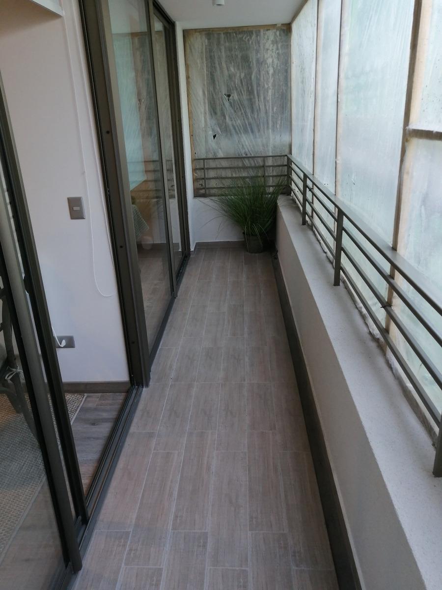 espectacular departamento irarrazaval/metro ñuñoa