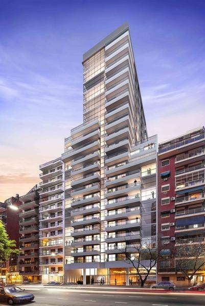 espectacular departamento monoambiente en belgrano de categoría premium amenities