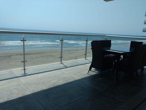 espectacular departamento ocean front diamante acapulco