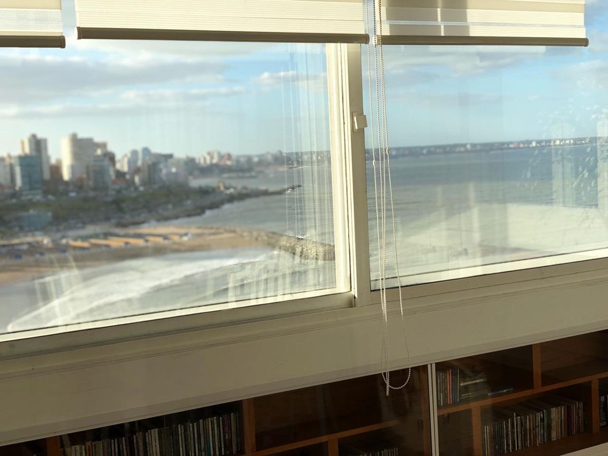 espectacular depto frente al mar 190 m edif mirador cabo corrientes