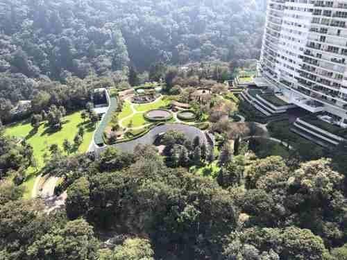 espectacular depto parque reforma, cumbres de santa fe