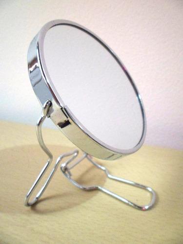 espectacular espejo doble propósito con aumento