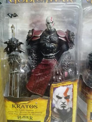 espectacular figura kratos god of war neca en rosario