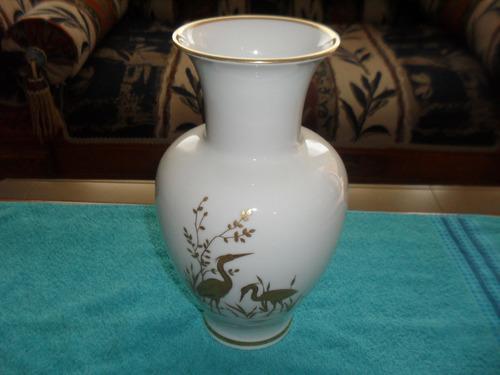 espectacular florero en porcelana bavaria + obsequio