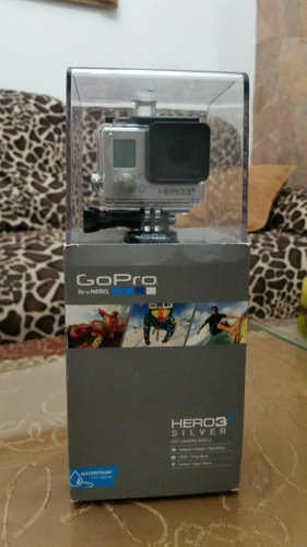 espectacular gopro hero3+ silver