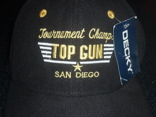 espectacular!! gorra cap orig. top gun san diego golf tour