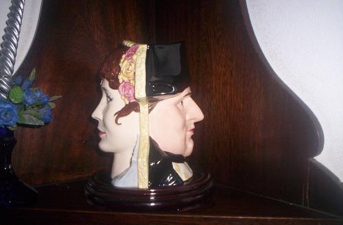 espectacular jarra royal doulton napoleon y josefina