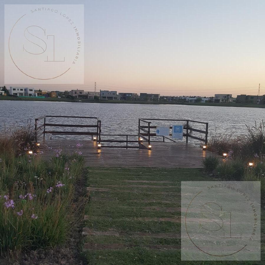 espectacular lote a la laguna en venta en san gabriel