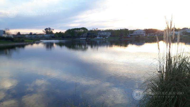espectacular lote al agua - amplia vista -  san matias - escobar