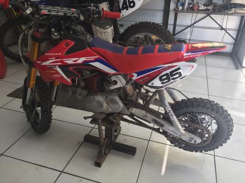 espectacular moto crf 50 única, motor bbr 88cc