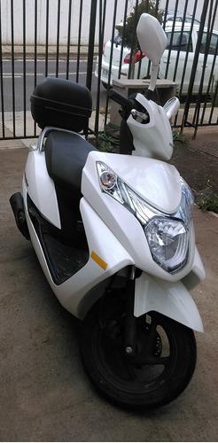 espectacular moto new elite 125