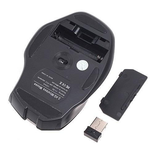espectacular mouse optico inalambrico 7 botones