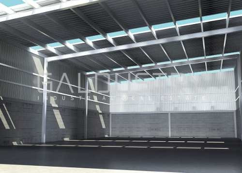 ¡espectacular nave industrial en parque nuevo y exclusivo en querétaro!