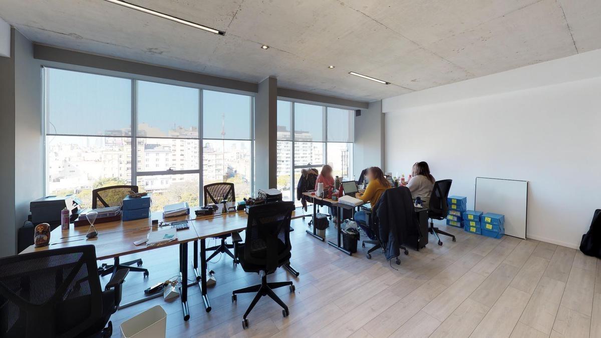 espectacular oficina aaa 103mts edif. a estrenar certif leed