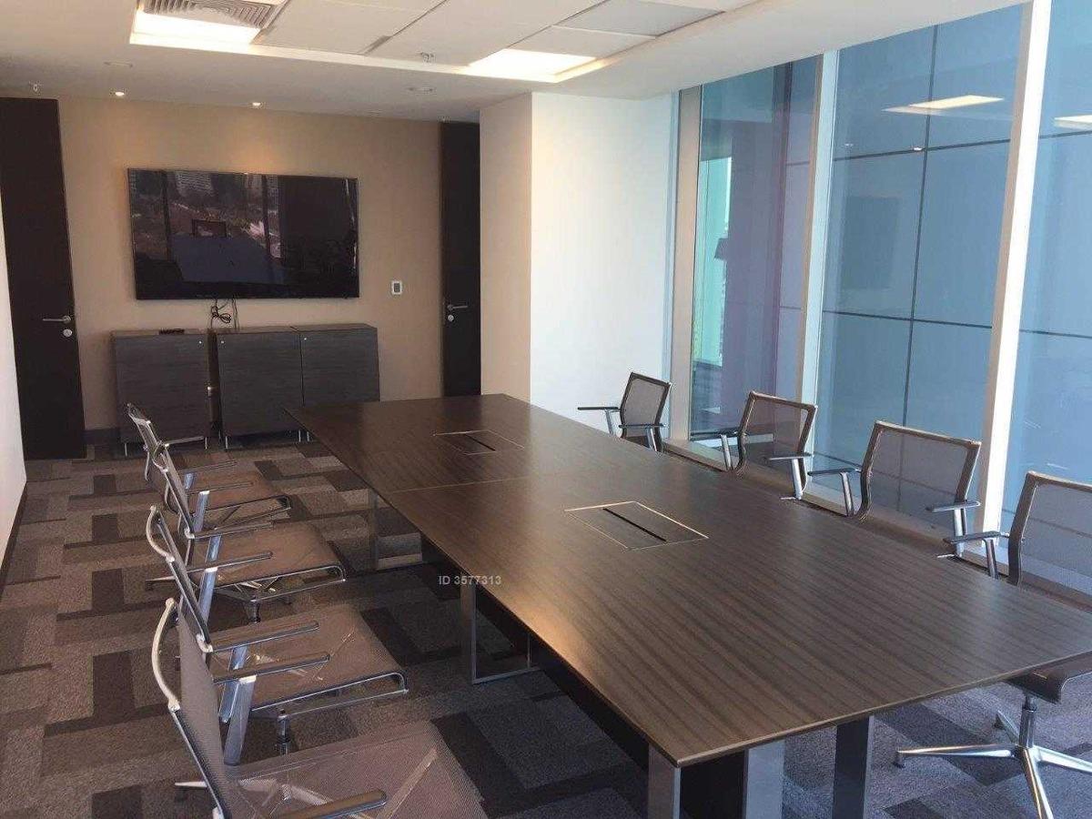 espectacular oficina amoblada