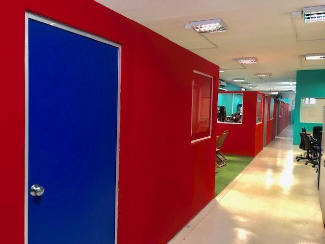 espectacular oficina en nuñez pb. y 2 pisos ideal co-working