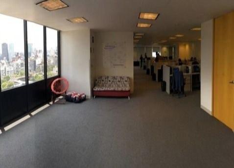 espectacular oficina en renta, polanco