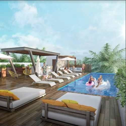 espectacular oportunidad penthouse en playa del carmen