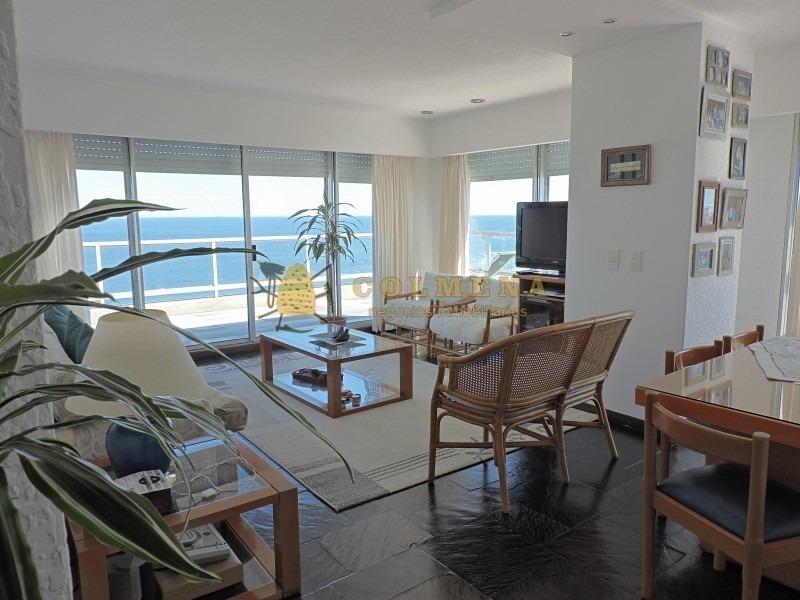 espectacular penthouse con vista 180grados al mar, playa brava!- ref: 2353