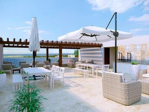 espectacular penthouse en playa del carmen