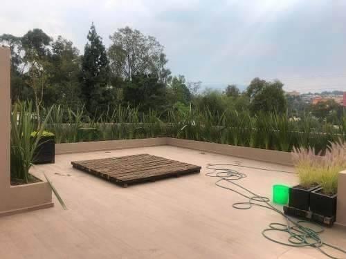 espectacular ph con roof garden privado